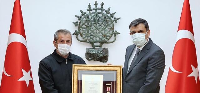 Samsun, Çorum, Tokat, Kastamonu ve Çankırı'da Devlet Övünç Madalyası Tevcih Töreni düzenlendi