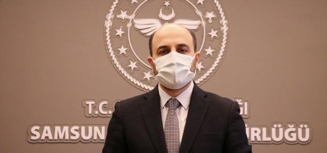Samsun Sağlık Müdürü Oruç'tan kentte vakaların arttığı uyarısı