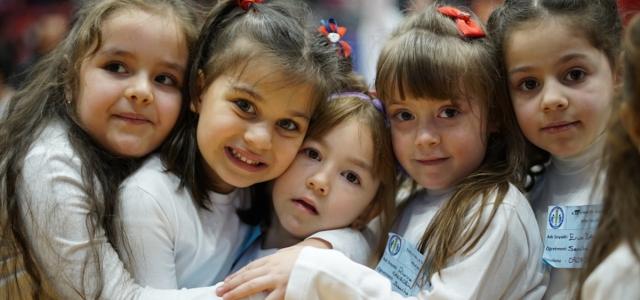 Samsun'da çocuklar engelli arkadaşlarıyla eğlendi