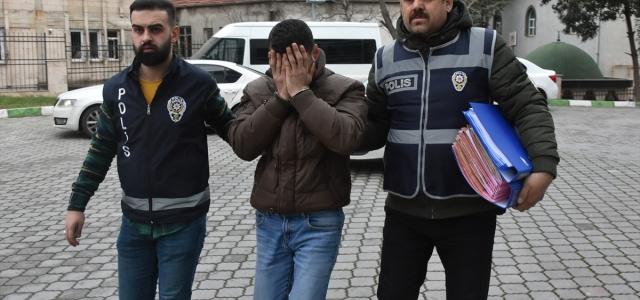 Samsun'da evlerden hırsızlık yaptığı iddia edilen kişi yakalandı