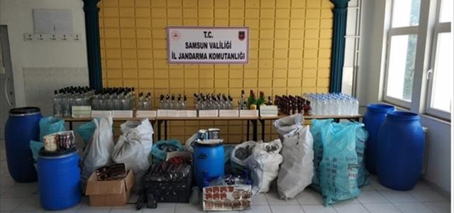 Samsun'da kaçakçılıkla mücadelede 2 şüpheli yakalandı