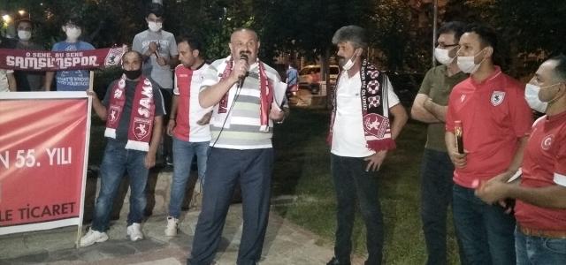 Samsunspor'un kuruluşunun 55. yılı Vezirköprü'de kutlandı