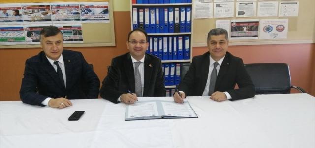 Şehit Erkut Yılmaz Mesleki Ticaret Anadolu Lisesi ile Bafra Ticaret ve Sanayi Odası arasında iş birliği protokolü imzalandı.