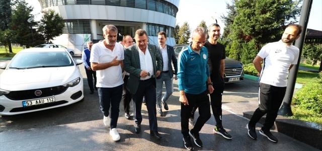 Şenol Güneş'ten Çaykur Rizespor Kulübüne ziyaret