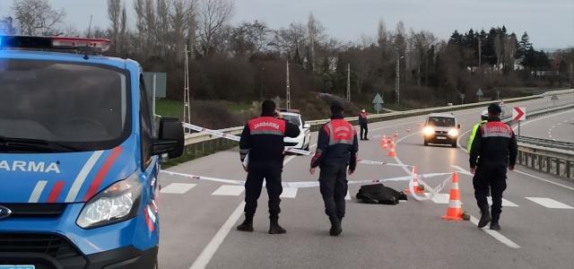Sinop'ta hafif ticari aracın çarptığı yaya öldü