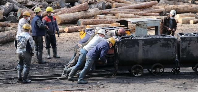 Taş kömürü satışından yılın ilk çeyreğinde 91,4 milyon lira gelir sağlandı