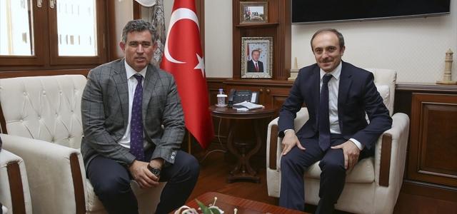 TBB Başkanı Feyzioğlu, Bayburt Valisi Cüneyt Epcim'i ziyaret etti