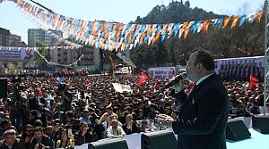 AK Parti'nin Ereğli mitingi