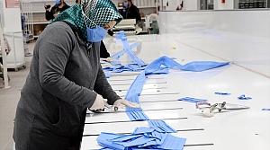 Amasya Belediyesi maske üretimine başladı