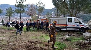Amasya'da AFAD ve Emniyetten ortak deprem tatbikatı