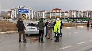 Amasya'da trafik kazaları: 5 yaralı