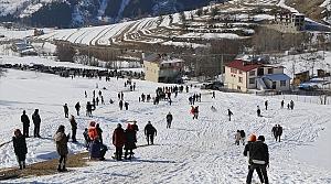 """Artvin'de """"Şavşat Yavuzköy Kış Şenlikleri"""" düzenlendi"""