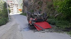 Artvin'de trafik kazası: 1 yaralı