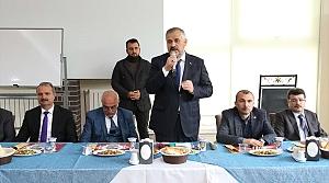 Bafra Belediye Başkanı Kılıç muhtarlarla buluştu
