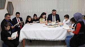 """Bafra'da """"çaylar sizden kitaplar bizden"""" projesi"""