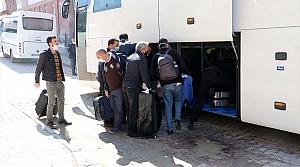 Bolu'da gözetim süresi dolan 250 kişi evlerine gönderiliyor