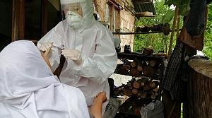 """Bolu'da """"Toplum Tarama Çalışması"""" ile 707 kişiye Kovid-19 testi yapıldı"""