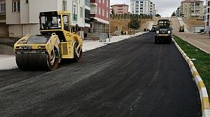 Çorum'da asfalt çalışmaları tüm hızıyla devam ediyor