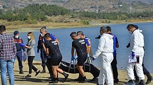 Çorum'da baraj gölünde kadın cesedi bulundu
