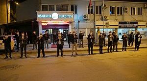 Çorum'da belediye hoparlörlerinden sağlık çalışanları için alkış sesi