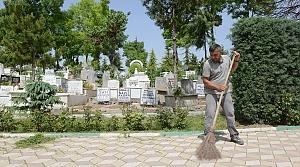 """Çorum'da mezarlık ziyareti yapacaklara """"sosyal mesafe"""" uyarısı"""