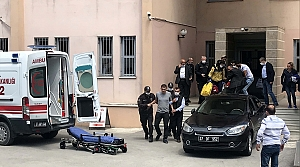 Defterdarlık binasında bir kişi tabancayla vuruldu