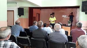 Doğankent'te taşımalı eğitim toplantısı yapıldı
