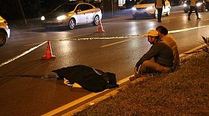Ekmek almaya giderken otomobilin çarptığı yaşlı adam yaşamını yitirdi