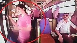 Genç kız halk otobüsünden ölüme indi!