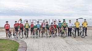 Giresun'da Avrupa Hareketlilik Haftası etkinliği kapsamında bisiklet turu düzenlendi
