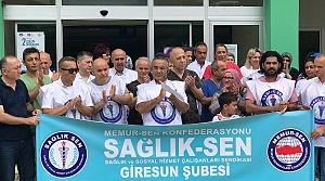 Giresun'da devlet hastanesinin kapatılmaması isteği