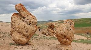 Gizemli kayaların sırrı çözülemiyor