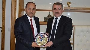 Havza Milli Eğitim Müdürü Sağlam'dan Başkan Özdemir'e ziyaret