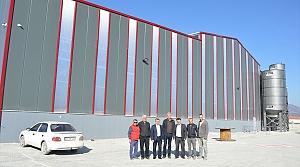 Havza OSB'de ilk üretim aralıkta