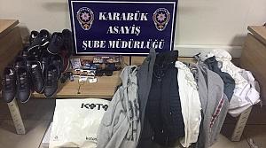 Karabük'te hırsızlık operasyonu