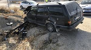 Karabük'te otomobil ile cip çarpıştı: 5 yaralı