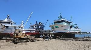Karadenizli balıkçılar yeni sezon hazırlıklarına başladı