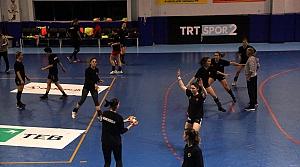 Kastamonu Belediyespor, EHF Kupası grup maçlarının hazırlıklarını sürdürüyor