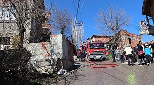 Kastamonu'da ev yangını