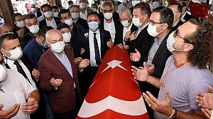 Kovid-19 nedeniyle hayatını kaybeden İSTAÇ AŞ Genel Müdürü Canlı'nın cenazesi defnedildi