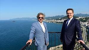 Kültür ve Turizm Bakan Yardımcısı Demircan, Giresun'da incelemelerde bulundu: