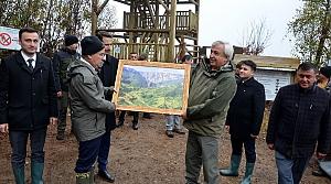 Küre Dağları Milli Parkı'ndaki Loç Vadisi'nde seyir terası oluşturuldu
