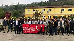 Madencilerden Mehmetçik'e destek