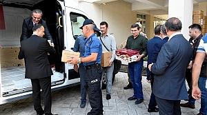 Mehmetçik'e 1071 kilogram pestil ve köme gönderildi