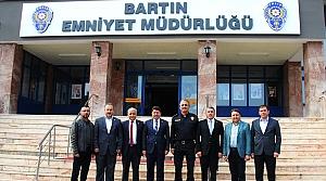 Milletvekili Tunç'tan Emniyet Müdürü Bozkuş'a ziyaret