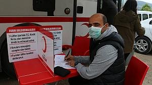 Mudurnu'da kan bağışı kampanyası düzenlendi