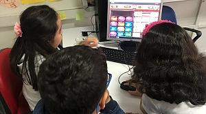 Öğrenciler İngilizce'yi oyunla öğreniyor