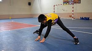 Okul taramasında keşfedilen şampiyon koşucunun hedefi milli forma