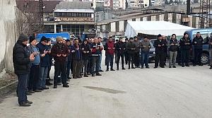Safranbolu ilçesinde esnafın dua geleneği