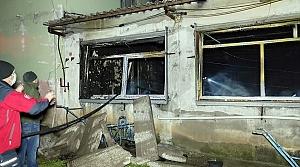 Sakarya'da boş tavuk çiftliğinde çıkan yangın söndürüldü
